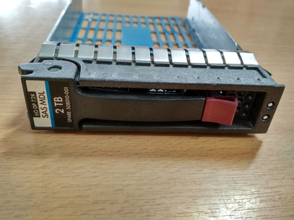 HP/Compaq 508010-001 Hot-Plug Tray 3.5 SAS HDD-hez használt