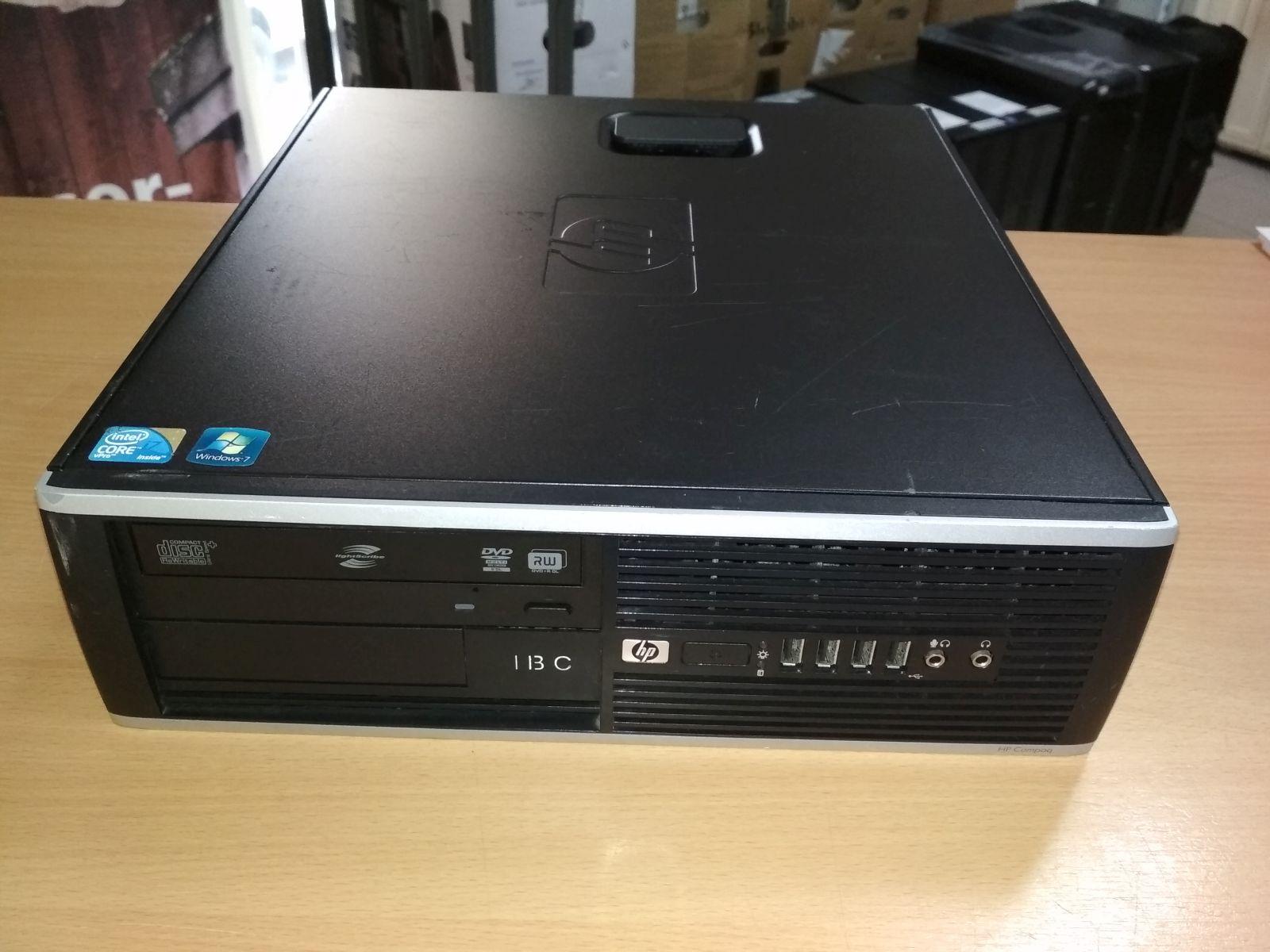 HP Compaq 8100 Elite SFF Xeon x3430 (i5) / 4 GB DDR3 / 500GB HDD használt 6 hó gar!