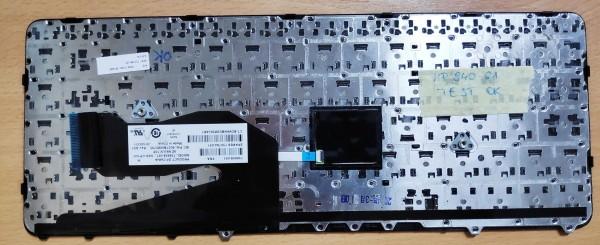 Hp 840 G1 , 850 G1, Zbook 14 használt Francia billentyűzet 3 hó garancia. 730794-051