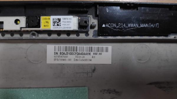 HP 840 740 745 G1 G2 LCD fedlap zsanérokkal  B kategória! 730949-001