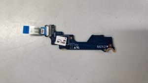 HP 840 G1 bekapcsoló panel+szalag kábel 730959-001 6050A2560301