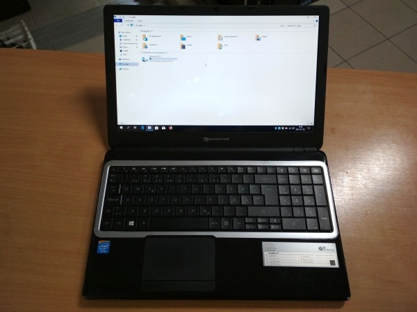 Packard Bell EasyNote TE69 15.6 Intel / 4GB / 320GB HDD használt laptop 3 hó gar!