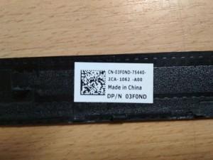 Dell Latitude E6330 LCD Fedlap Zsanér LVDS Első keret 08P8TR 066MGC AM0LK000601 használt