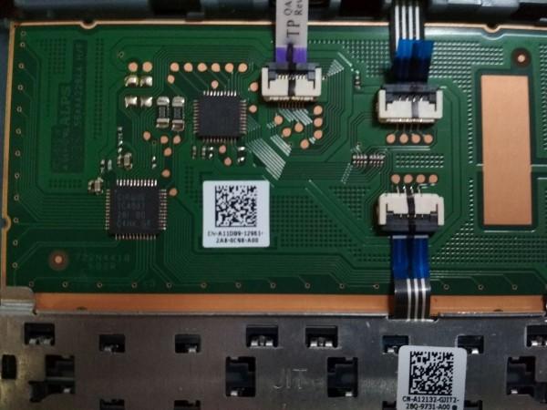 Dell Latitude E6330 TouchPad Palmrest AP0LK000500 0M1WJD használt