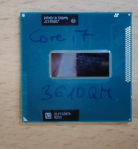 Intel Core i7 3610QM mobil processzor. SR0MN használt 1 hó gar!
