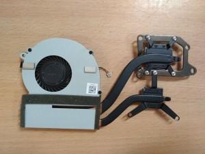 Sony VPCSB VPCSB1X9E PCG-41218M ventilátor és hőcső használt