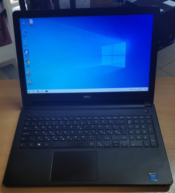 Dell Inspiron 5558 15.6 Intel i3 / 4GB / 500GB HDD használt laptop 3 hó gar!