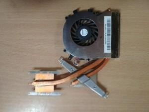 Sony Vaio VPCEC VPCEB VPCEC3S0E PCG-91111M  ventilátor és hőcső 300-0001-1276_A használt