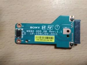 Sony Vaio VPCEC VPCEC3L1E VPCEC3S0E ODD Csatlakozó kábel 1P-109CJ00-2011 használt 1 hó gar!
