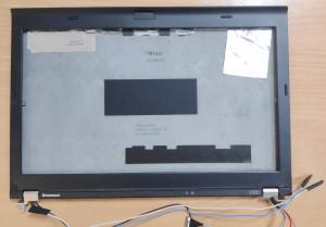 Lenovo X220 X220i X230 X230i  fedlap+első keret+zsanérpár antennákkal.  04W6985 04W1407