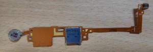 Samsung Galaxy note 2014 edition SM-P600 sd kártya+vibra motor flex kábel.