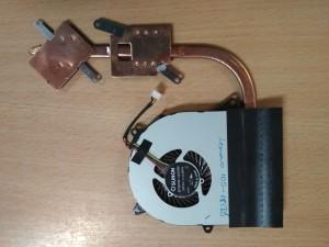 Lenovo Ideapad 100-15IBD hőcső AT10E0030F0FCC ventilátor DC28000CVS0 intel nvidia használt