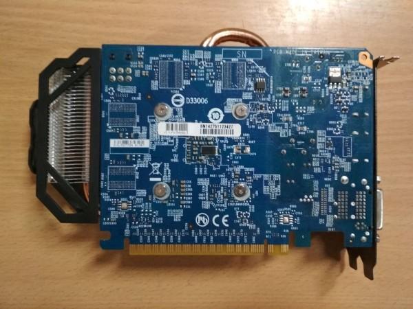 GIGABYTE GeForce GTX 750 Ti OC 2GB GDDR5 128bit PCIe GV-N75TOC-2GI Videokártya használt 1 hó gar!
