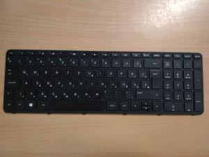 HP 250 G3, 255 G3 gyári magyar keretes laptop billentyűzet 749658-211 708168-211 használt 1 hó gar!