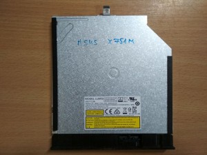 ASUS X751 Sorozathoz DVD író ODD használt 1 hónap garancia!