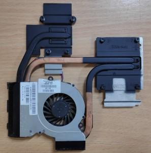HP DV7 6000-es sorozatkomplett hűtés. 666391-001