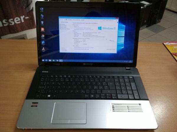 Packard Bell ENLE11BZ 17,3 AMD E300 / 4GB / 500GB HDD használt 3 hó gar!
