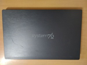 System 76 gaze10  - i3 6100H / 4GB / 1TB HDD használt laptop 3 hó gar!