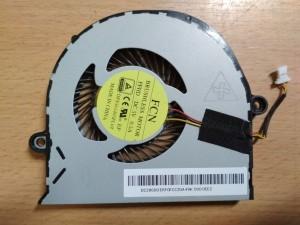 Acer Aspire E5-471 E5-521 E5-531 E5-552 E5-571 E5-572 E5-573 E5-574 TravelMate P256 ventilátor DC28000ERF0 használt 1 hó gar!