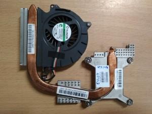 HP Elitebook 8440P Hőcső Venti 592950-001 592951-002 nVidia használt  1 hónap gar!