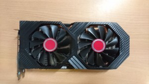 XFX Radeon RX 580 DirectX 12 RX-580P8DFD6 XXX Edition 8GB 256-Bit GDDR5 Videokártya használt 3 hó gar!