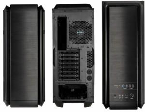 Számítógépház anidees AI-6BW-V2 ATX Fekete Ablakos b kategóriás 1 év gar!