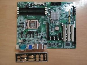 DFI PT630 LGA1156 használt alaplap 1 hó gar!