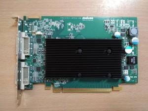 MATROX M9120 DualHead 512MB , 2xDVI, PCI-Express x16 M9120-E512F használt 3 hó gar!