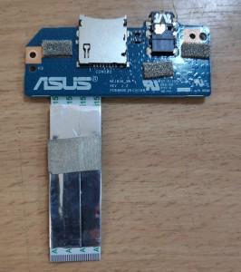 Asus Memopad 10 Me103K_SB rev 2.2 SD kártya, audio panel kábellel. Használt termék