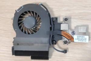 HP Elitebook 2540P komplett hűtés. Hőcső+ventillátor. Használt termék. 598789-001
