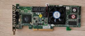 Areca ARC-1220 4 portos PCIe RAID vezérlő. Használt termék.