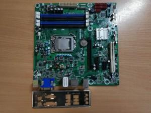 Pegatron IPMIP-GS 1.02  mATX LGA1156 használt alaplap 1 hó gar!