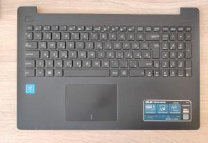 Asus X553S magyar billentyűzet palmrestel touchpaddal, használt termék. 13N0-RLA0C21
