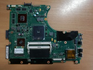 ASUS N56D N56DP 2.0 Alaplap ATI HD 8750M 60-NQOMB1002-(C05) használt 1 hó gar!