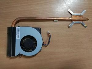 Asus K52F A52F X52F sorozathoz ventilátor DQ5D577C004 13GNXM10P190-1 és hőcső FBKJ3012010 13GNXN1AM010 használt 1 hó gar!