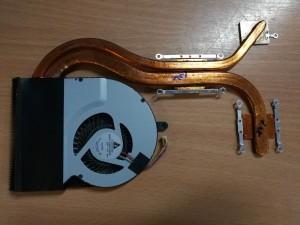 Asus N56DP Sorozathoz 15.6 CPU Ventillátor hőcső 13GNQO1AM010-1 36NJ8TMJN80 használt 1 hó gar!