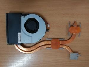 ASUS N56D N56DP ventillátor hőcső 13NB0141AM010-1 36NJ8TMJN90 használt 1 hó gar!