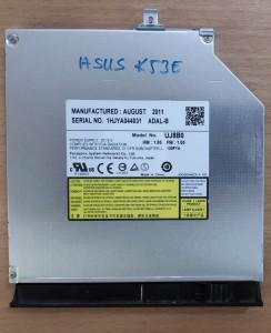 Asus X53 K53 sorozat DVD író. Használt termék.