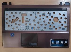 Asus K53 palmrest touchpaddal és bekapcsoló gombbal. Használt termék. 13GN3C4AM012-1