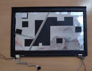 T510 T520 T530 W510 W520 felap+első keret zsanérokkal webkamerával. Használt termék