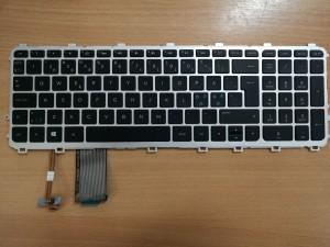 HP ENVY 15-j034eo 15-j035eo 15-j035so 15-j036eo 720244-DH1 nordic laptop billentyűzet használt 1 hó gar!