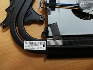 HP ENVY 15 15-j010TX 15-J031tx 15t-J000 sorozathoz venilátor + hőcső HM87 nvidia 750M 720542-001 6043B0137601 használt 1 hó gar!