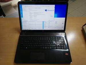 HP Pavilion g7-2250sh 17,3 AMD A8 4500M / 4GB / 750GB HDD webkamera használt laptop 3 hó gar!