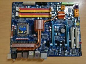 GIGABYTE GA-X48-DQ6 Alaplap LGA 775 használt 1 hónap garancia!