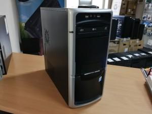 Fekete PC Intel E2180 / 4GB / 250GB HDD használt 1 hó gar!