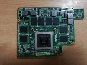 Asus G53SW G53JW G73SW nVIDIA GTX 460M 1.5GB videókártya 69N0JIV10B03-01 60-N0ZVG1000-B03 használt 1 hó gar!