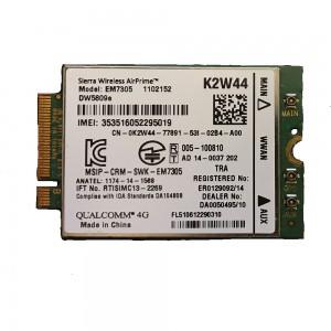 DELL Latitude E5250, E5450, E5550, E7250, E7350, E7450, E7550 4G WWAN Card DW5809E K2W44 Sierra 4G HSDPA 1 hó gar!