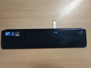 Asus G53 G53J G53S G53SX Palmrest 13GN0Z1AP051-1 13N0-JIB0111 és Touchpad használt 1 hó gar!