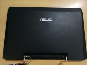 Asus G53 G53J G53S G53SX LCD Fedlap 13N0-JIA0D21 13GN0Z1AP092-1 használt A- 1 hó gar!
