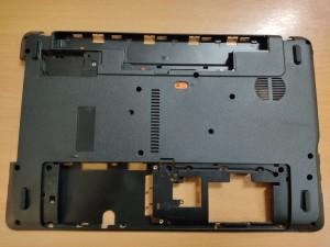 Acer Aspire E1-521 E-521G E-531G E1-531 E1-571 E-571G NV55S NV57H alsó kaszni AP0HJ000A00 új 3 hó gar!